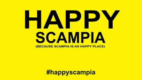 We Are Happy from SCAMPIA