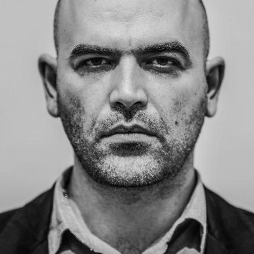 Roberto Saviano shot by Giuseppe Di Vaio